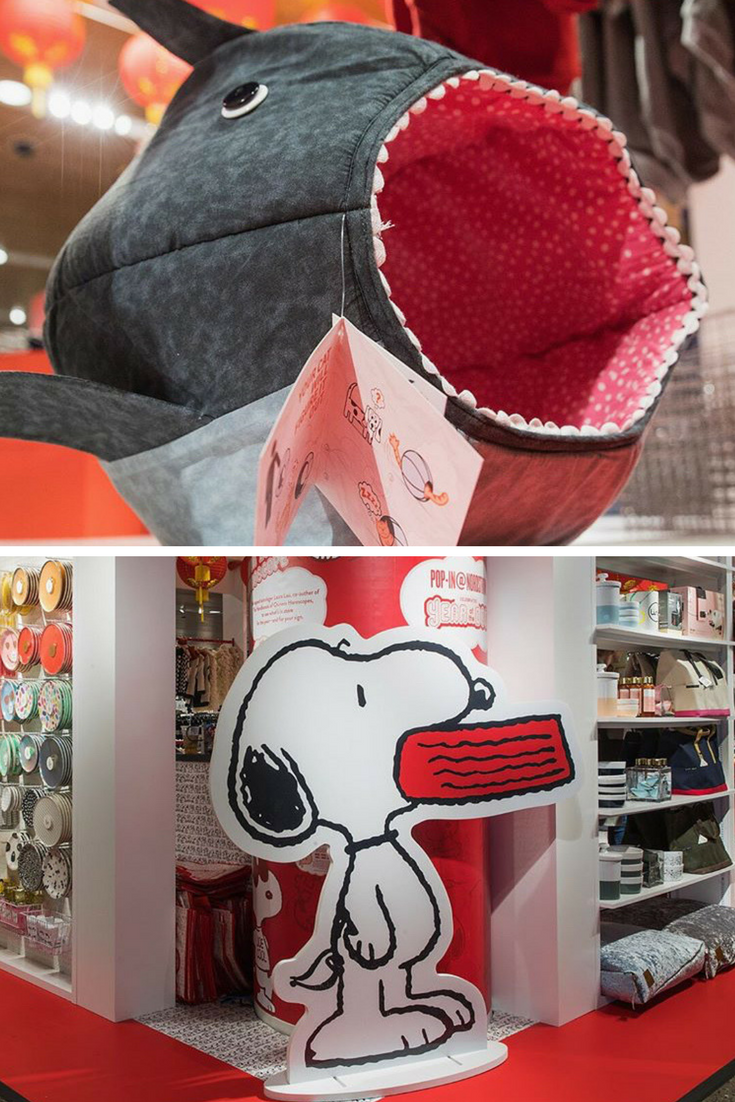 Nordstrom celebrates Year of the Dog with their Pop-In Shop