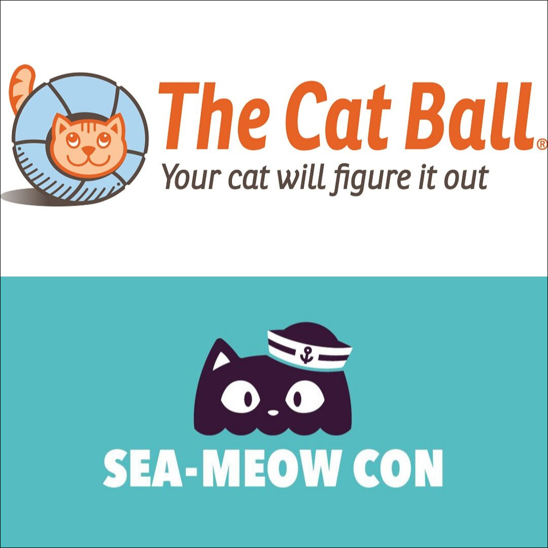 SEAMEOW CON is Seattle's first cat convention. The Cat Ball is one of many vendors that will be at this event for Pacific Northwest  cat lovers