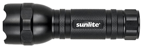 The Sunlite Tactical Flashlight has a laser setting and is a great cat toy