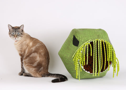 The Cthulhu Cat Ball cat bed original cat cave bed