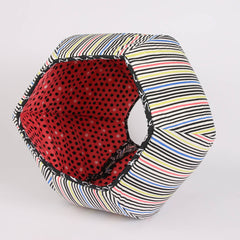CAT BALL cat bed in Windham 8 days a week fabric collection