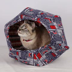 The Cat Ball cat voting booth