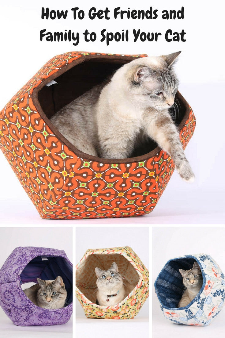 The Cat Ball cat bed is a great present for cats and cat owners