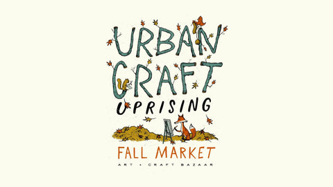 Urban Craft Fall Market is a one day shopping event, giving you a chance to get a head start on holiday shopping, with fabulous goods made by local artisans.