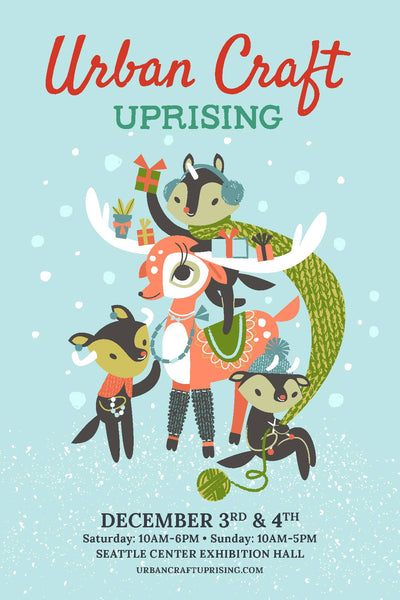 Urban Craft Uprising is Seattle's largest curated indie craft show