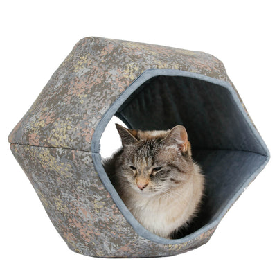 Cat Ball Bed - Moonlit Garden