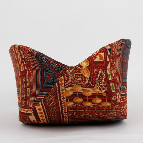 Cat Canoe modern cat bed made beautiful and detailed Hoffman fabrics