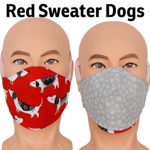 Red Sweater Dogs