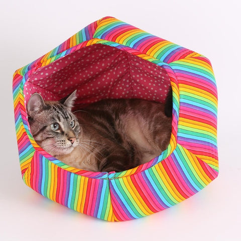 Nyan Cat Rainbow CAT BALL cat bed