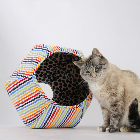 The cat ball cat beds crafted for cats styled for - Bed made of balls ...