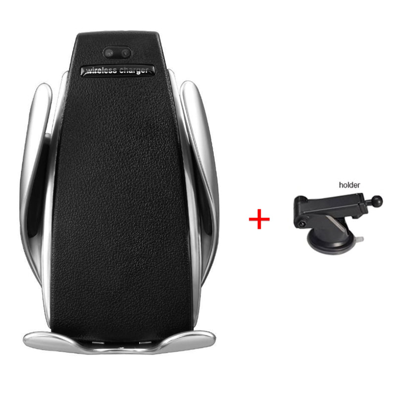 S5 car wireless charging mobile phone bracket - Direct Dropship