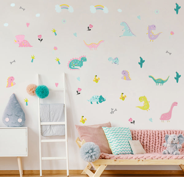 Dinosaur children's room wall stickers (Dinosaur) - Direct Dropship