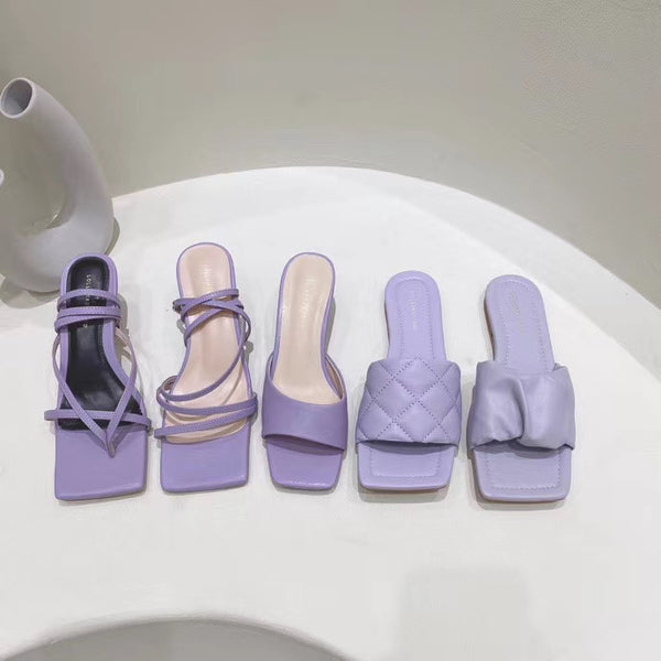 Taro Purple Sandals - Direct Dropship