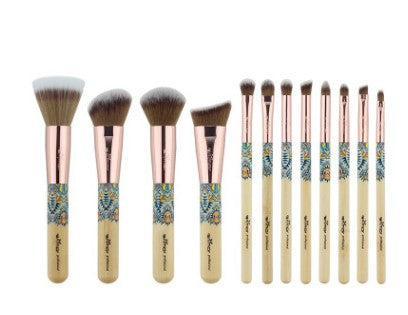 Wooden Brush Set Make Up - Direct Dropship
