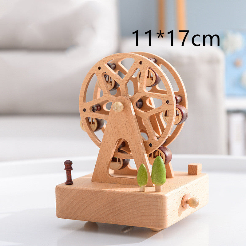 Music box carousel music box - Direct Dropship