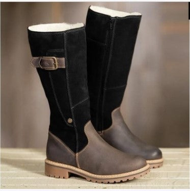Low heel high boots - Direct Dropship