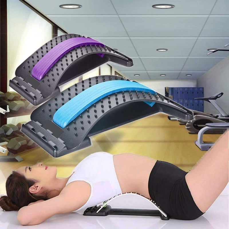 Spinal Cervical Massager Lumbar Orthosis Student Creative Fitness Equipment Spine Car Acupuncture Massage Cushion Waist - Direct Dropship
