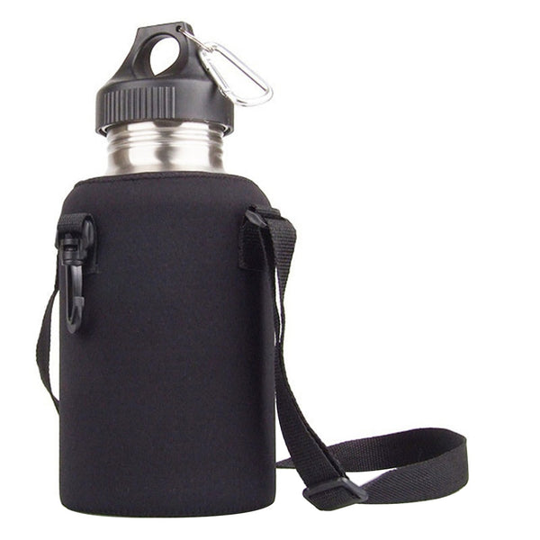 2000ML sports bottle cover (Black) - Direct Dropship