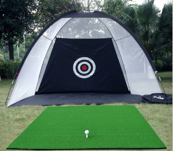 Golf Cage Practice Net Garden Backyard Outdoor Training Aid-2M/3M - Direct Dropship