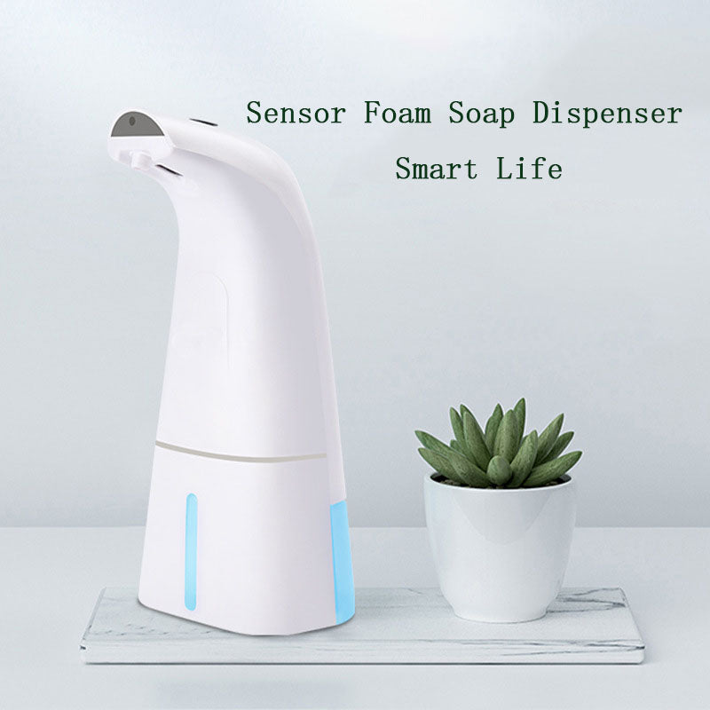 248ml USB Rechargeable Automatic Foam Soap Dispenser - Direct Dropship