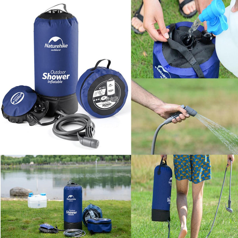 INFLATABLE CAMPING SHOWER - Direct Dropship