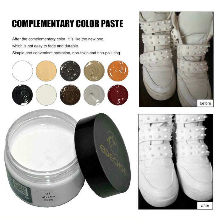 Yayo Leather Dyeing Agent Leather Clothing Repair Renovation Colored Leather Pack Sofa Leather Shoes Repair Colored Plaster Leather Shoes Paint - Direct Dropship