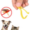 Pets except scorpion catching flea comb (Yellow) - Direct Dropship