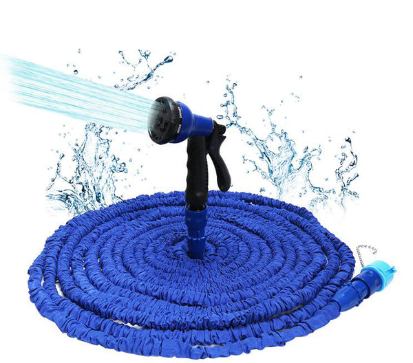 25FT-100FT Expandable Flexible Water Hose with Spray Gun For Garden - Direct Dropship