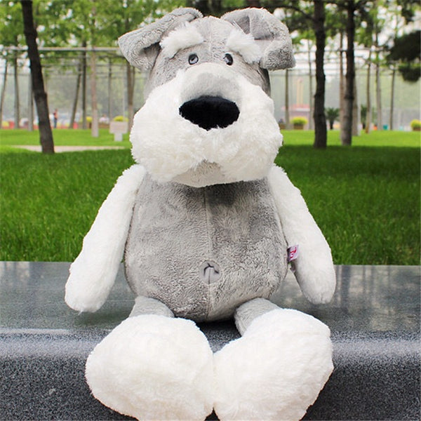Schnauzer dog doll plush toy - Direct Dropship
