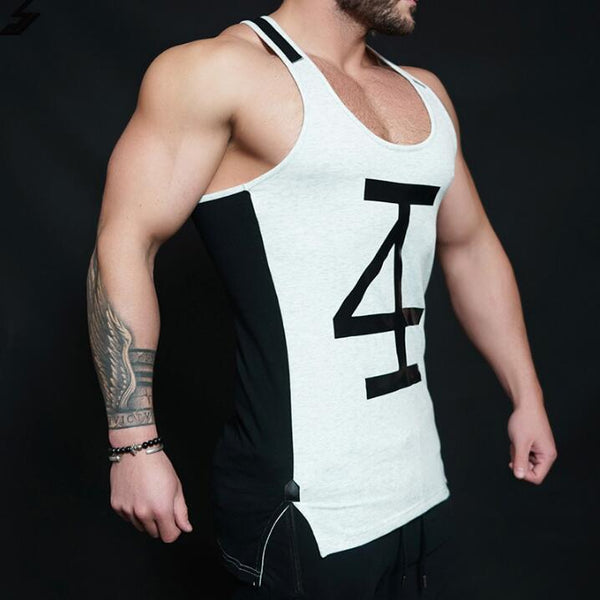Fitness spring and summer men's vest - Direct Dropship