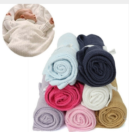Baby Blanket Super Soft Cotton - Direct Dropship