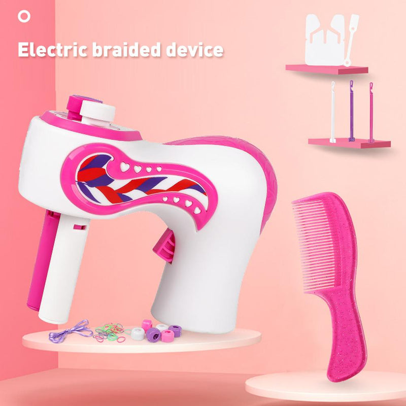 Electric children's hair artifact (Pink) - Direct Dropship