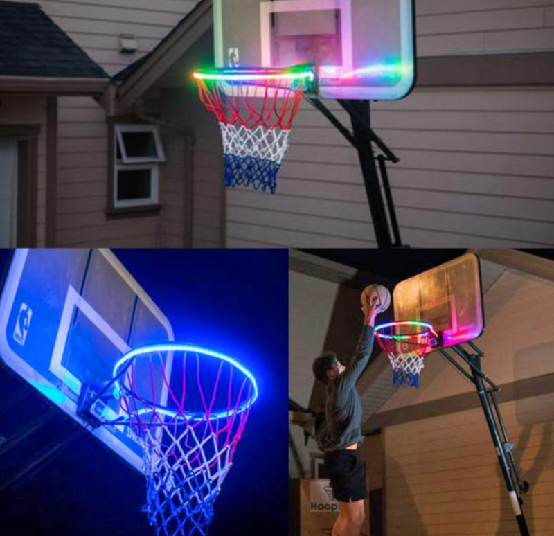 Induction color changing basketball frame light - Direct Dropship