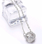 S925 sterling silver new smart series beating heart necklace love zircon hollow pendant female - Direct Dropship