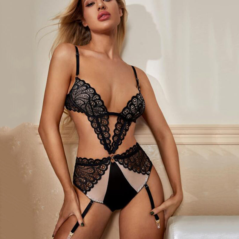 Sexy lace piece sexy lingerie - Direct Dropship