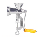 Single-function household aluminum alloy hand-cranked meat grinder (Silver) - Direct Dropship