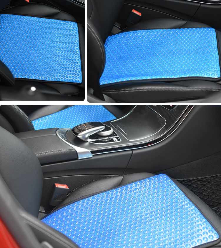 Car summer cool breathable cooling ventilation ice pad universal cushion - Direct Dropship