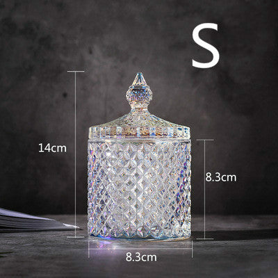 Nordic crystal glass storage tank - Direct Dropship