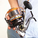 9000 type long-distance caster fishing reel spinning wheel - Direct Dropship