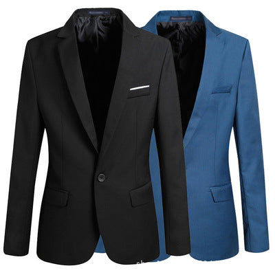 new spring Metrosexual Korean cultivating small suit Boys Youth thin suit men's coats - Direct Dropship