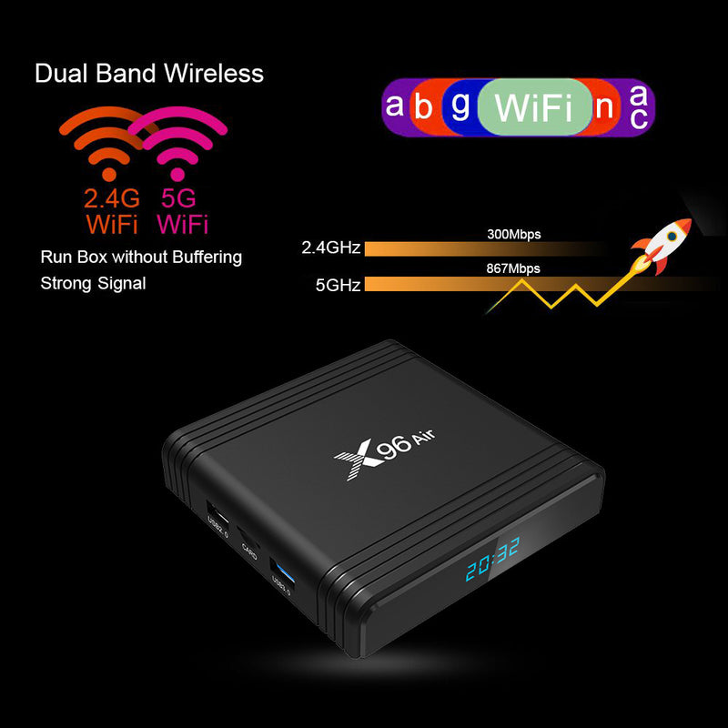 X96Air network TV box - Direct Dropship