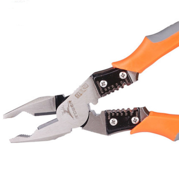 Multi-function wire cutter 118-129 (Orange) - Direct Dropship