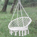Swing Chair,  Outdoor leisure chair, white chair, hammock (60x80) - Direct Dropship