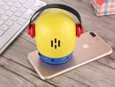 Doll cartoon music player mp3 external audio portable mini bluetooth speaker - Direct Dropship