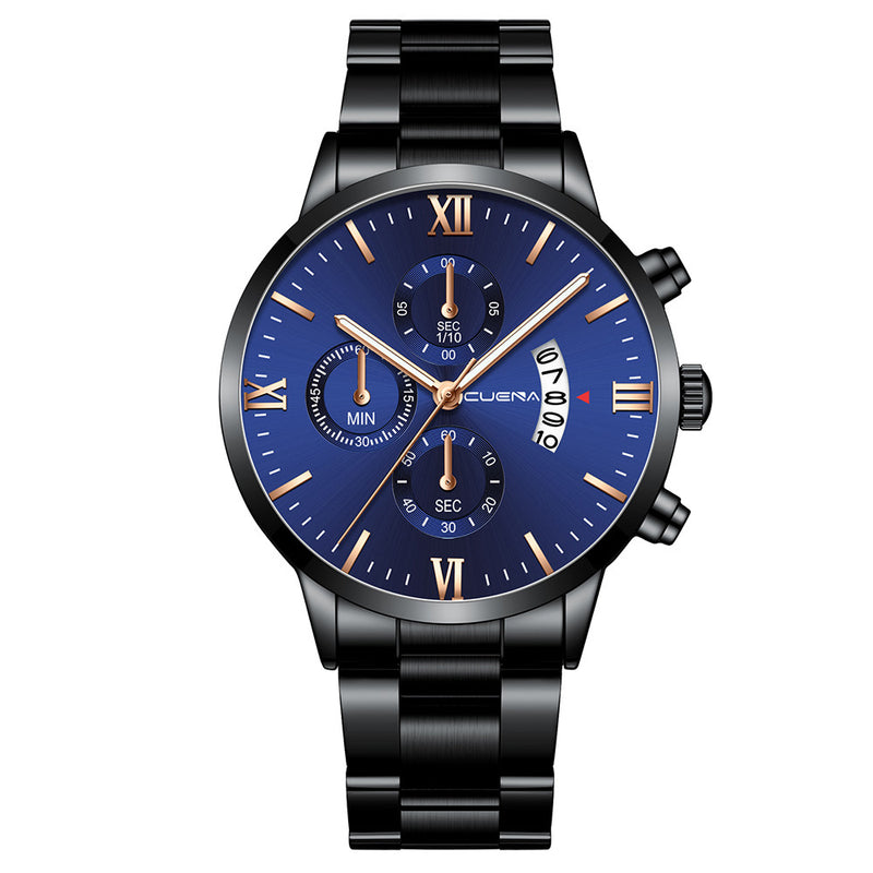 Casual steel band watch - Direct Dropship