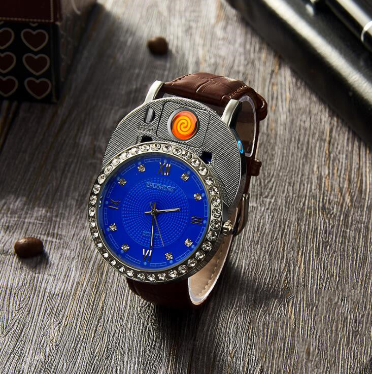 Steel band Watch charging lighter - Direct Dropship
