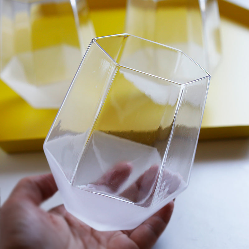 Three-dimensional frosted glass (Transparent) - Direct Dropship