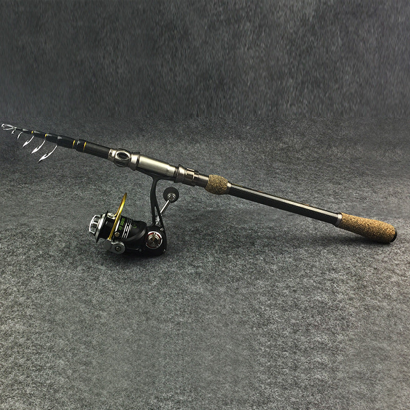 Short carbon and long shot rod halleluyah pole sea rods flame MH fishing rod fishing tackle wholesale - Direct Dropship