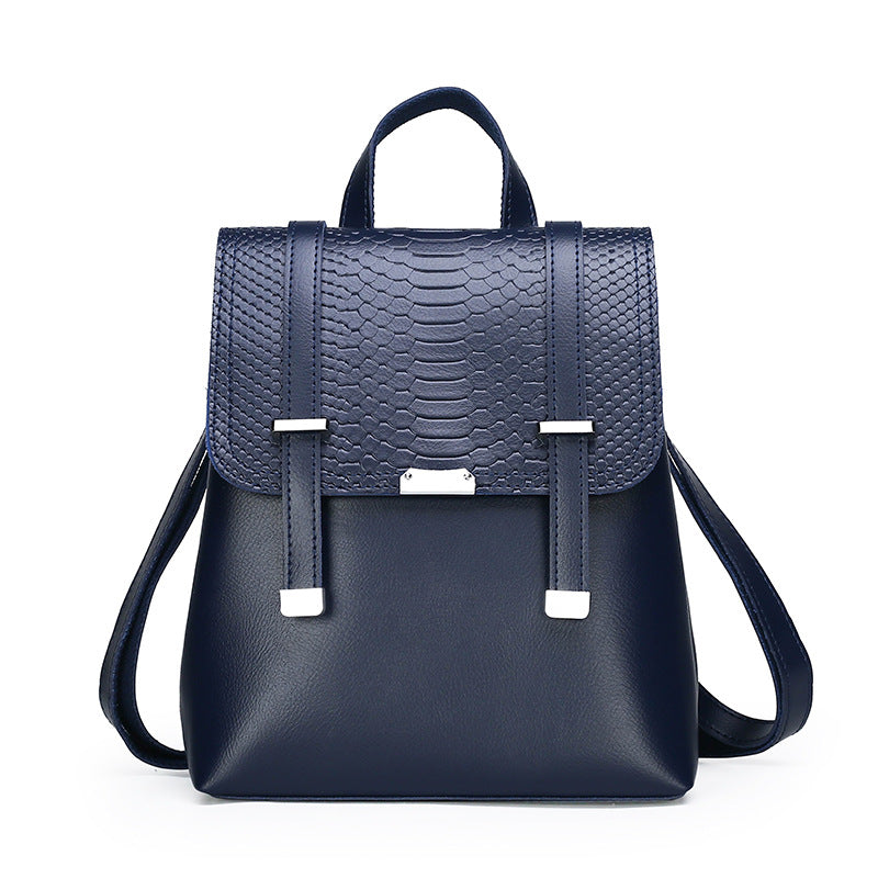 Double strap casual backpack - Direct Dropship