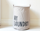 Cotton and linen waterproof beam storage bin hamper home life dirty clothes tube - Direct Dropship